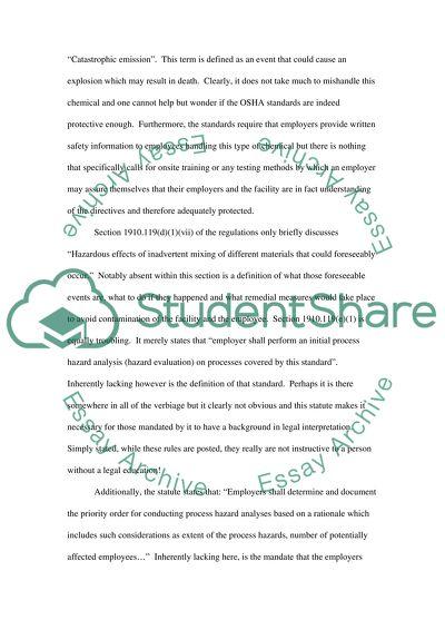 Comprehensive review of OSHA standers 29 CFR 1910. 103 Hydrogen