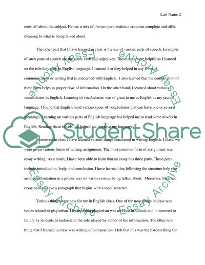 Persuasive Essay Topics For High School My Experience In A English Class Science Development Essay also Thesis For A Persuasive Essay My Experience In A English Class Essay Example  Topics And Well  High School Years Essay