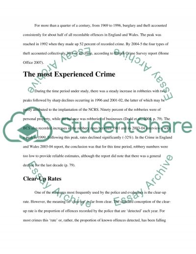 ASSIGNMENT 2 CRIMINOLOGY REPORT essay example