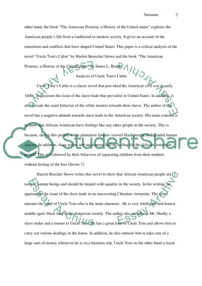 Personal Reflection Essay Analysis Od Uncle Toms Cabin By Harriet Beecher Stowe And The American  Promise A History Apocalypse Now Essay also Format Of A Persuasive Essay Analysis Od Uncle Toms Cabin By Harriet Beecher Stowe And The Essay The Outsiders Book Essay