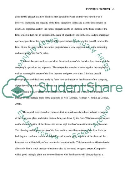 High School Essay Writing Strategic Planning Apa Style Essay Paper also Essay On High School Experience Strategic Planning Essay Example  Topics And Well Written Essays  English Essay Introduction Example