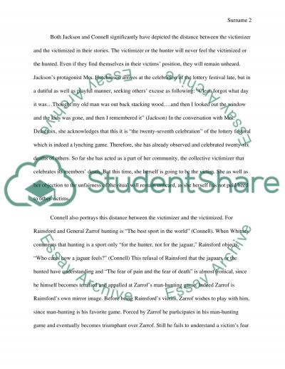 Themes and purposes essay