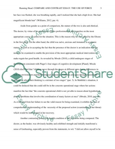 The Use of Force Essay essay example