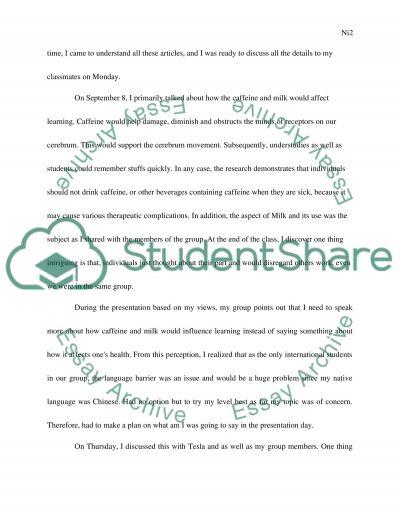 Conference narrative essay example