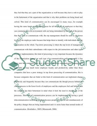 Strategic marketing communications essay example