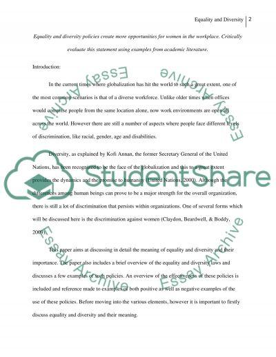 Peopel mangment essay example