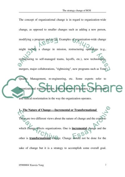 The Current Management change process does not appear to address cultural issues essay example