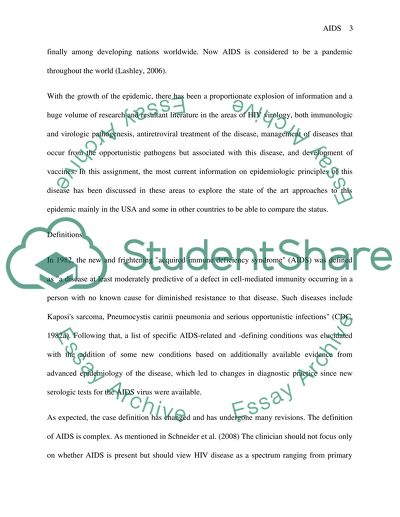 Essay On Water Is Life  Argumental Essay also Life Essay Epidemology Of Hivaids Research Paper Example  Topics And  Essay On Stitch In Time Saves Nine