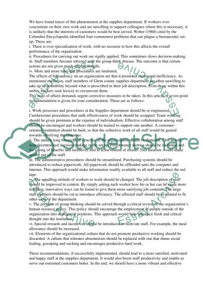 Management of Organisational Behaviour essay example
