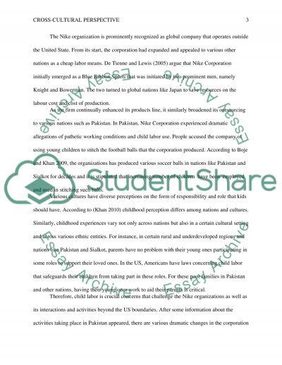 Cross-Cultural Perspectives essay example