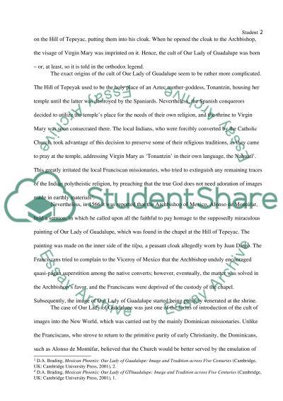 Guadalupe Hidalgo Paper essay example