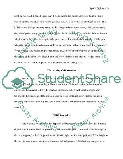 Healthy Mind In A Healthy Body Essay Historiographical Exercise Spain Civil War And Violence  Essays Topics For High School Students also Thesis In Essay Historiographical Exercise Spain Civil War And Violence  Essay Essay Vs Paper
