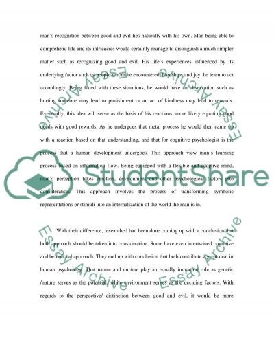 Cognitive Psychology nowadays Essay example