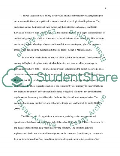 Sales and Marketing Tourism Report essay example