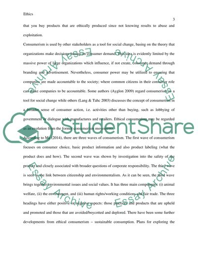 Introduction to a reflective essay