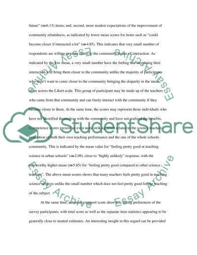 Discussion and Conclusion essay example