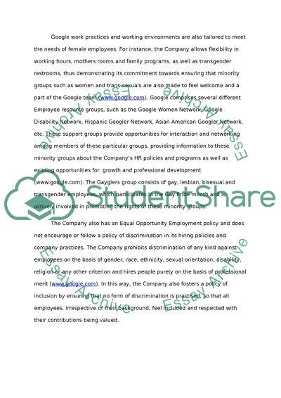 Google essays