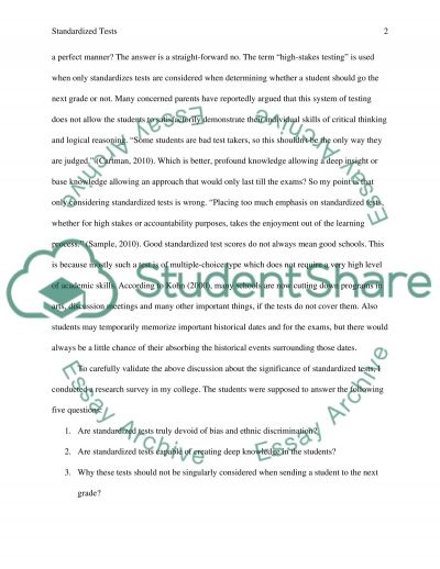 Conclusion Paper essay example