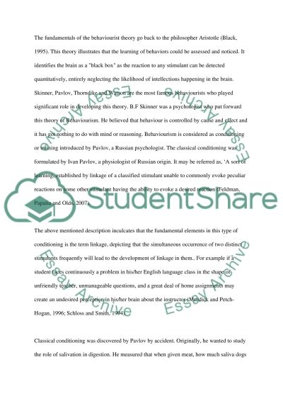 Social, emotional and behavioural difficulties 2011-2012 essay example