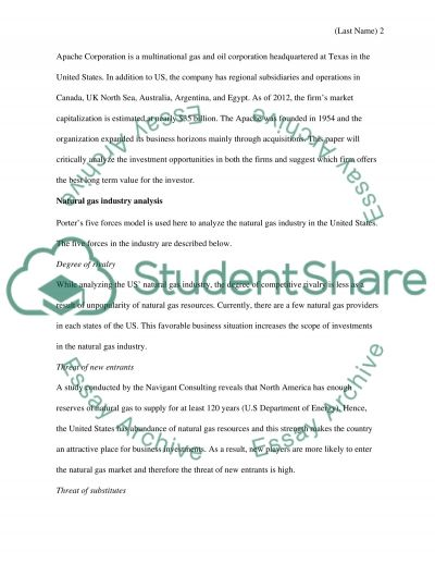 Corporate finance essay example
