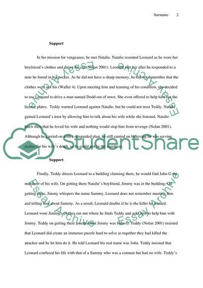 Essay part 1