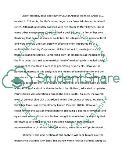 Diversity essay prompt