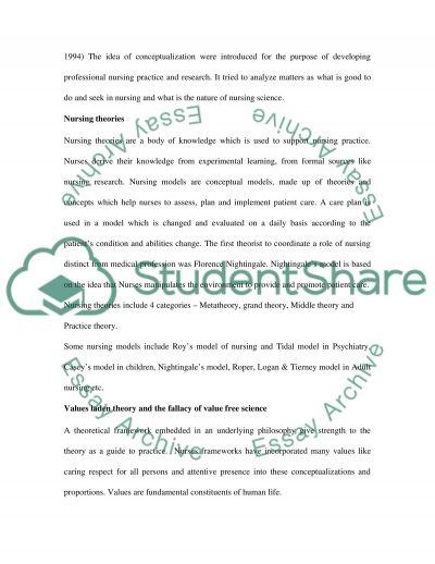 Nursing Profession essay example