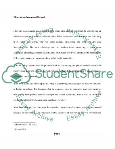Supply Chain Information Management essay example