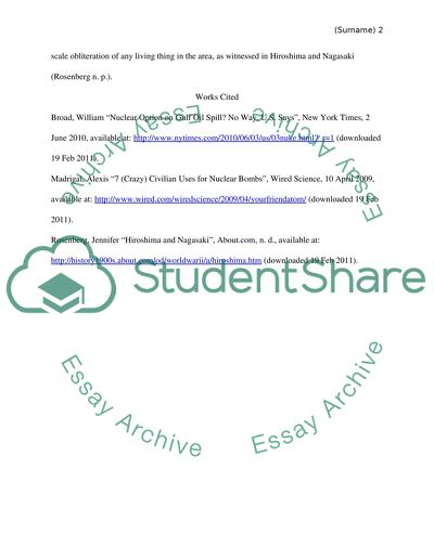 Essay Prompt 6