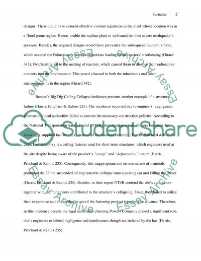 Engineering Disasters Essay example
