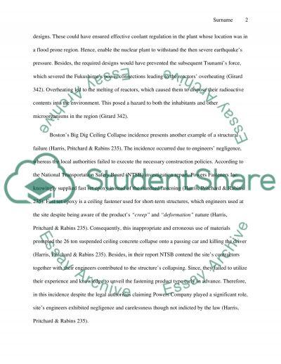 Engineering Disasters essay example