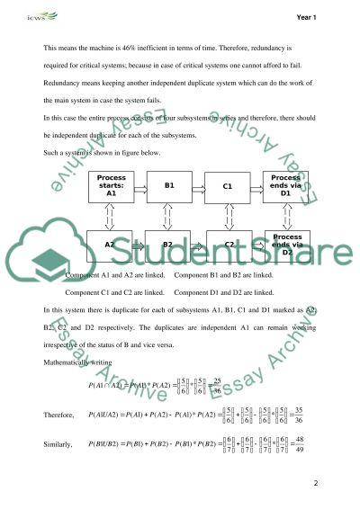 Quantitative methods essay example