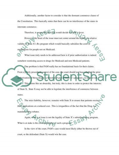 Constitutional Law Essay essay example