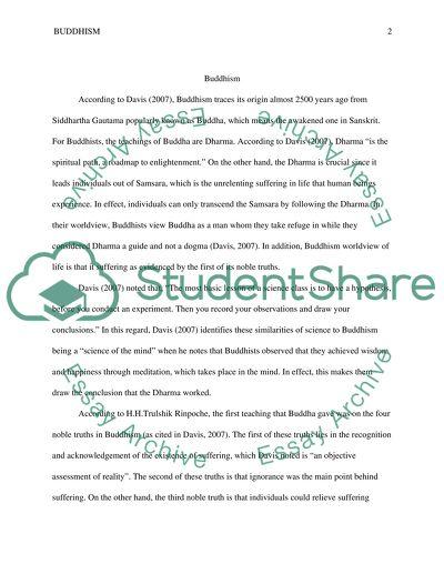 Short Writing Assignment