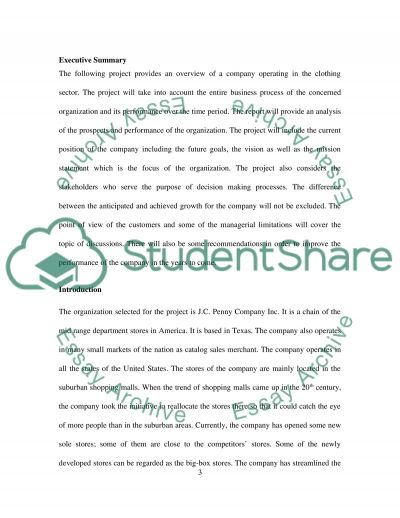 Clothing business essay example