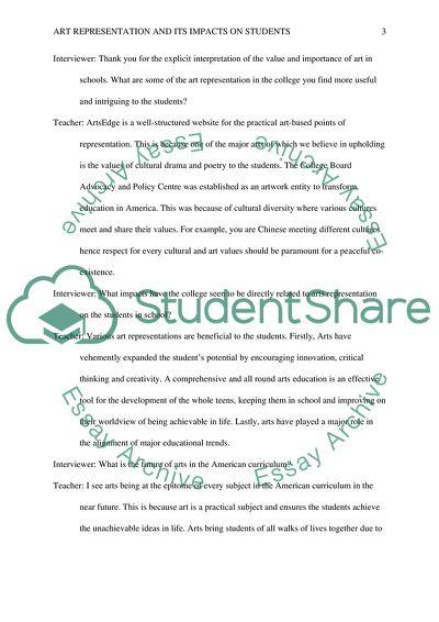 Teacher Profile Assignment