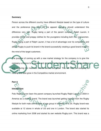 Ralph Lauren Rugby s fail reasons and re-launch marketing strategy essay example