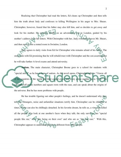 The book The Curious Incident of the Dog in the NightTime essay example