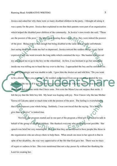 English - Narrative Writing