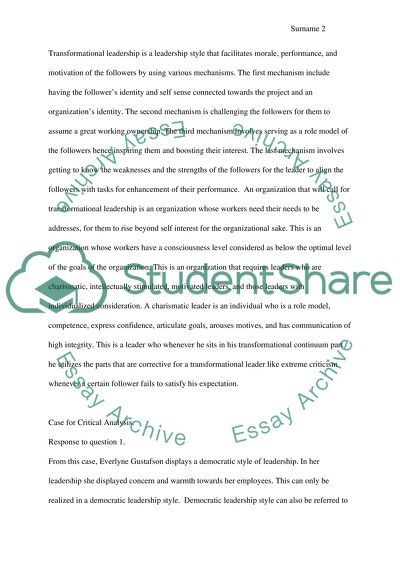 business management essay example  topics and well written