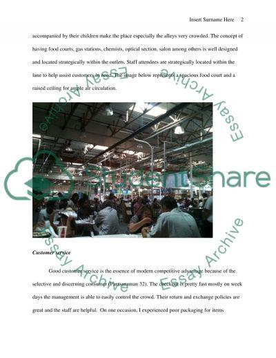 Costco retail store-santa clarita essay example