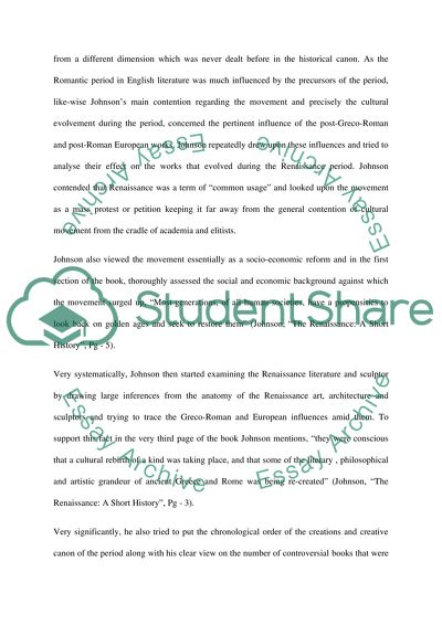How To Start A Business Essay Paul Johnsons View On Renaissance Compare And Contrast Essay Papers also Thesis Statement For Descriptive Essay Paul Johnsons View On Renaissance Essay Example  Topics And Well  Compare Contrast Essay Examples High School