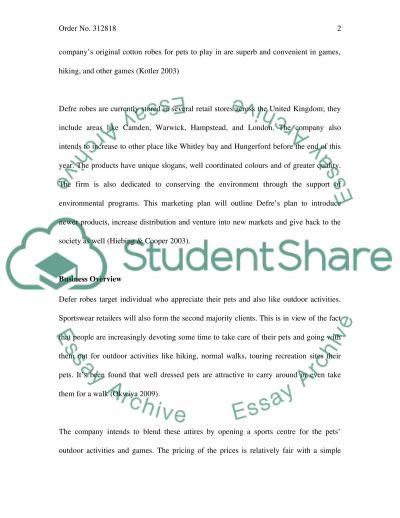 Marketing Management Master Case Study essay example