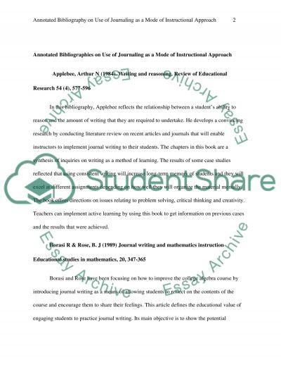 Narrative Description and Reflection essay example