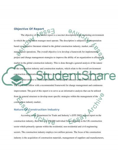 Change Management (Business) Marketing Study essay example