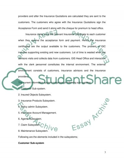 Information Systems Degree Essay essay example