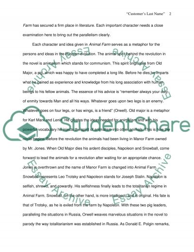 animal farms parallelism to russian revolution research paper animal farms parallelism to russian revolution essay example
