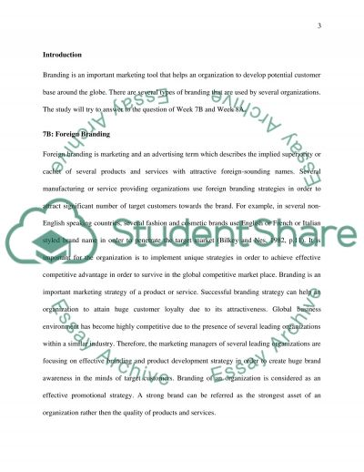 International Marketing essay example