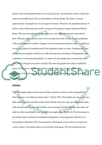 High School Years Essay Overpopulation Too Many People Living In  China  Science Fiction Essay Topics also Argumentative Essay Examples High School Overpopulation Too Many People Living In  China  Essay Topics For Essays In English