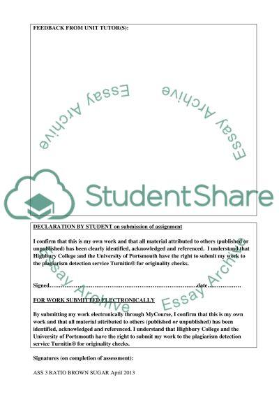 Foundation Degree Hospitality Management essay example